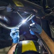 powerflow exhausts welding