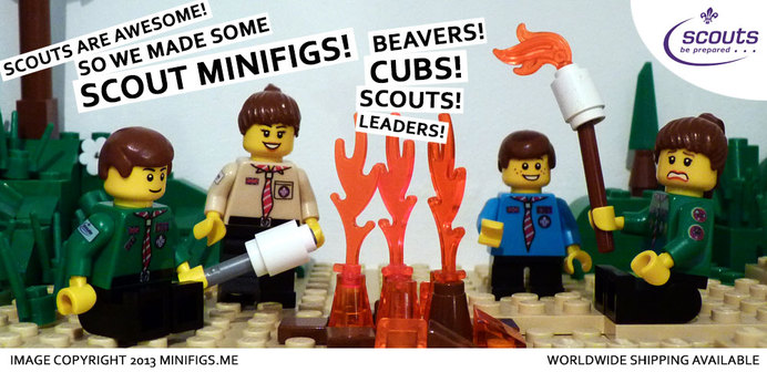 Scouts org uk get s lego tastic      but we were lego ed up first     We ve been using Lego to illustrate our packs website for quite sometime  now    have a link for http   minifigs me  on our site as they make some  wonderful
