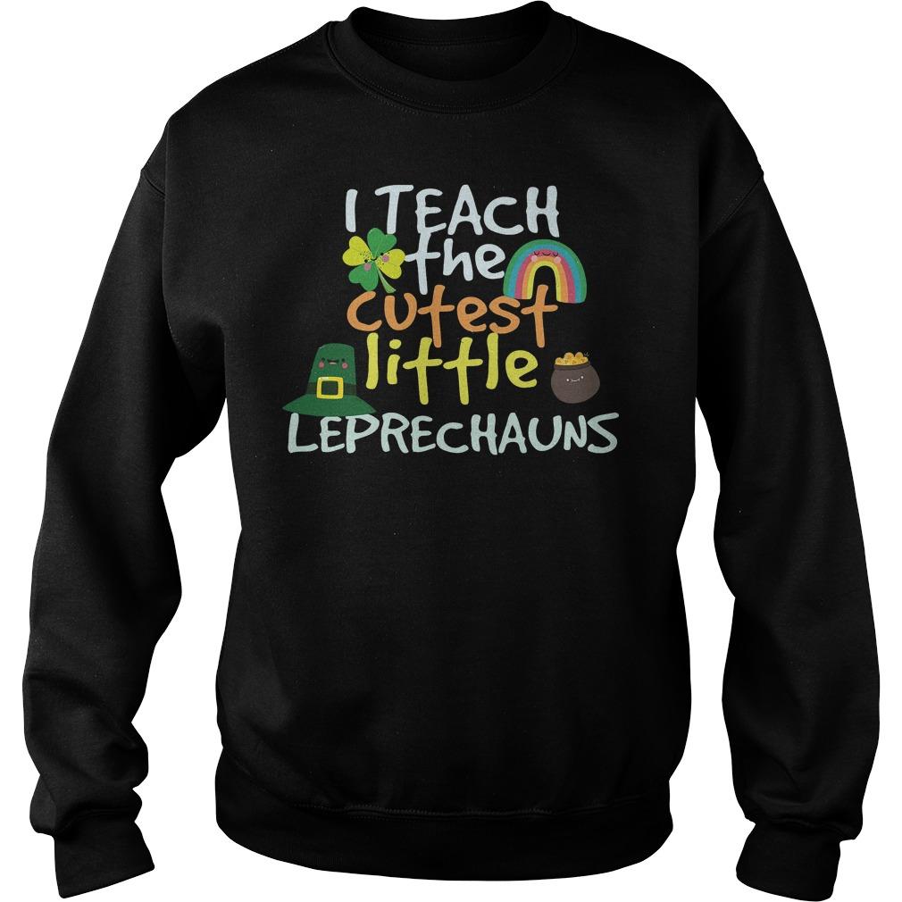I Teach Cutest Little Leprechauns Shirt 5