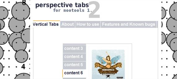 perspective-tabs-mootools-menu
