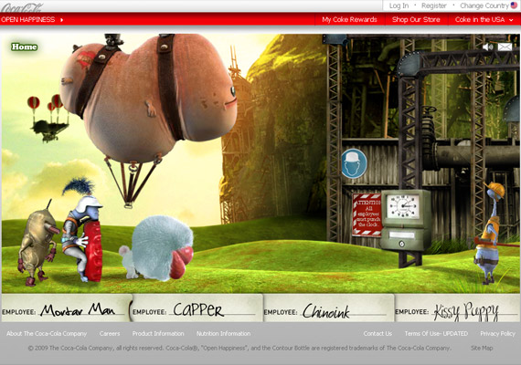 cocacola-hapiness-factory-creative-flash-webdesign-inspiration