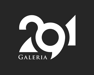 291-galleria typographic logo inspiration