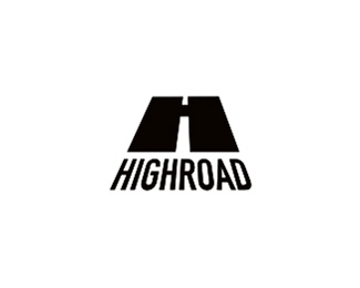 highroad typographic logo inspiration