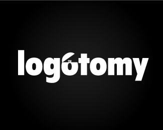 logotomy typographic logo inspiration