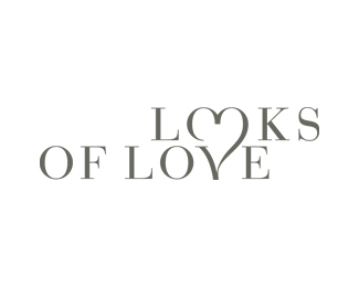 looks-of-love typographic logo inspiration
