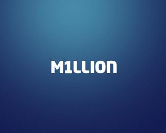million typographic logo inspiration