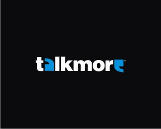 talk-more typographic logo inspiration