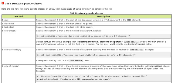structural-pesudo-css3-useful-webdev-webdesign-resources