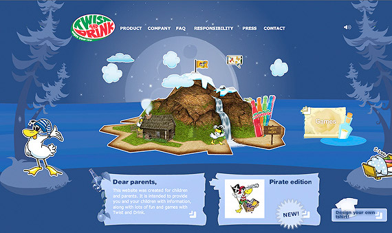 twistanddrink-3d-flash-inspiration-webdesign