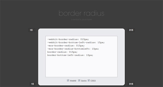 Border-radius-css3-tools-generators