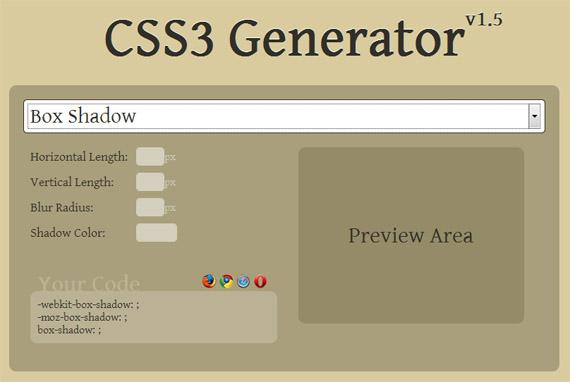 Generator-css3-tools-generators