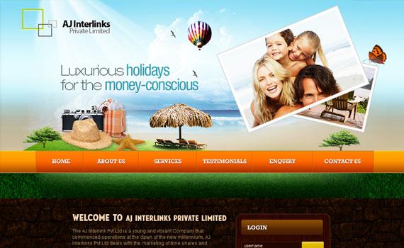 Aj-groups-international-looking-textured-websites