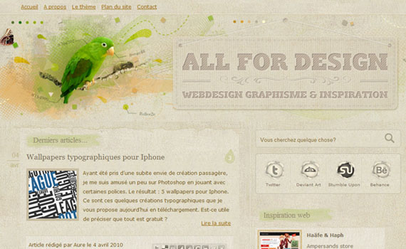 All-for-design-looking-textured-websites