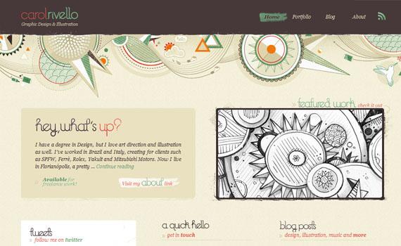 Carol-rivello-looking-textured-websites