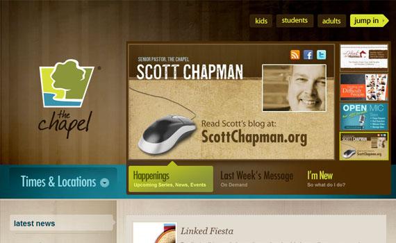 Chapel-looking-textured-websites