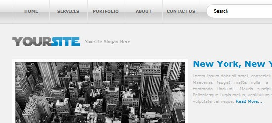 Web Design Layout #10: Sitebuild