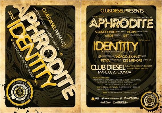 Aphrodite Identity Flyer
