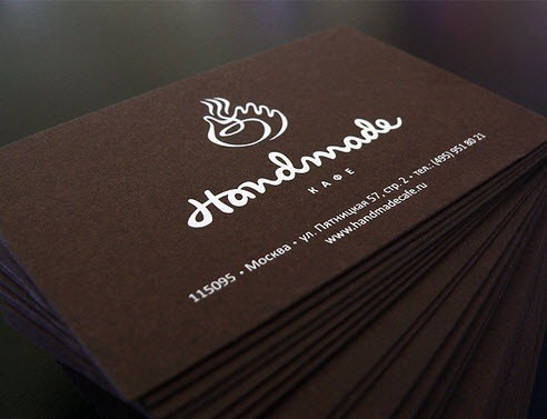 creative minimal business card design inspiration Handmade-minimal-business-cards