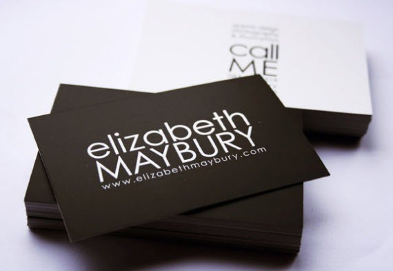 creative minimal business card design inspiration elizabeth-minimal-business-cards