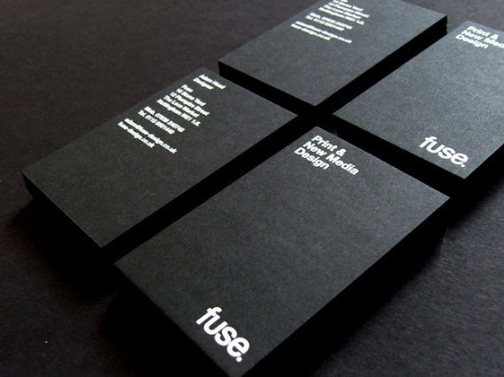 creative minimal business card design inspiration fuse-minimal-business-cards