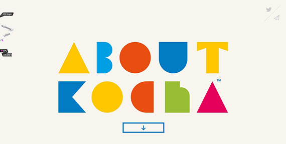 kocha-single-page-website