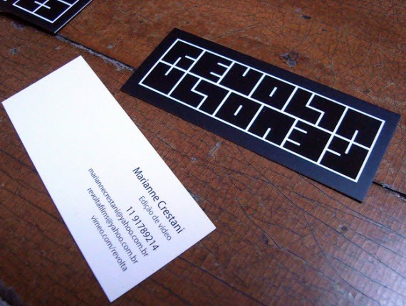 creative minimal business card design inspiration marianne-minimal-business-cards