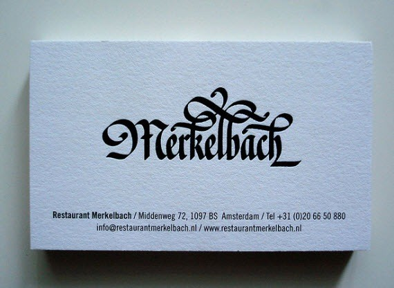 creative minimal business card design inspiration merkel-minimal-business-cards