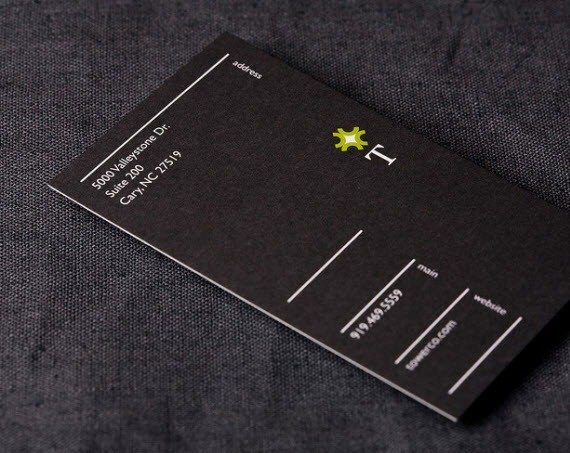 creative minimal business card design inspiration t-minimal-business-cards