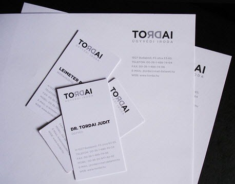 creative minimal business card design inspiration tordai-minimal-business-cards