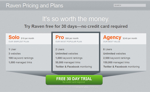 Raven-tools-pricing-charts-best-examples-tips-inspiration