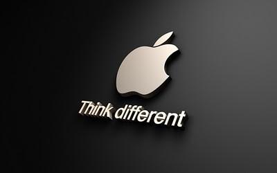 Apple slogan is a super creative headline example