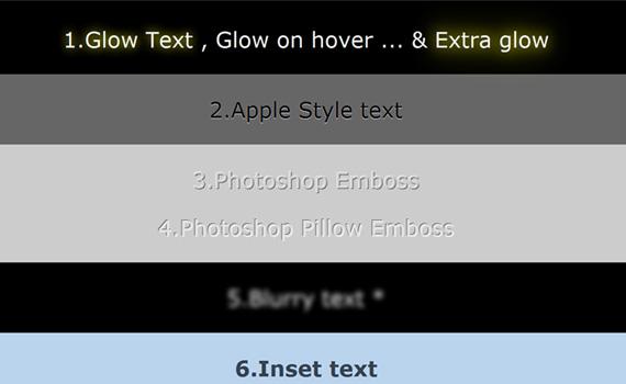 Shadow-cool-css3-text-effect-tutorials