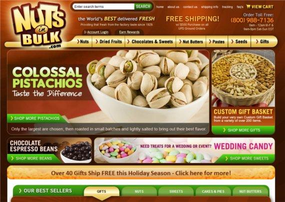 Nuts-in-Bulk-15-Eye-Catching-Food-Beverage-Ecommerce-Website-Designs
