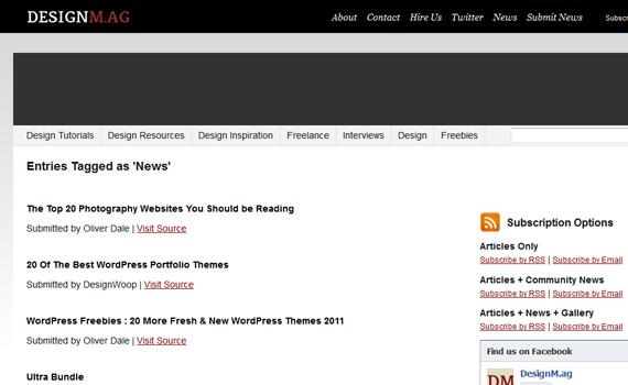 Design-mag-websites-promote-articles-social