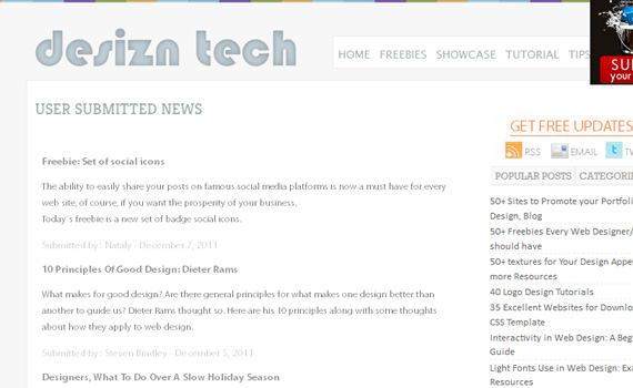 Desiznertech-websites-promote-articles-social