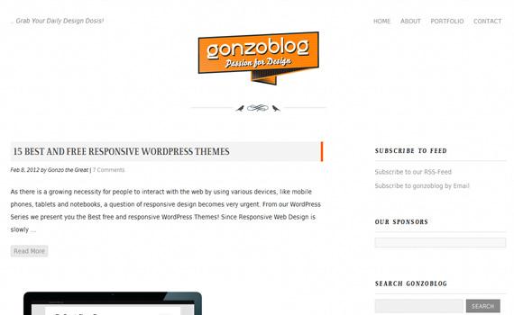 Gonzoblog-responsive-web-design-showcase