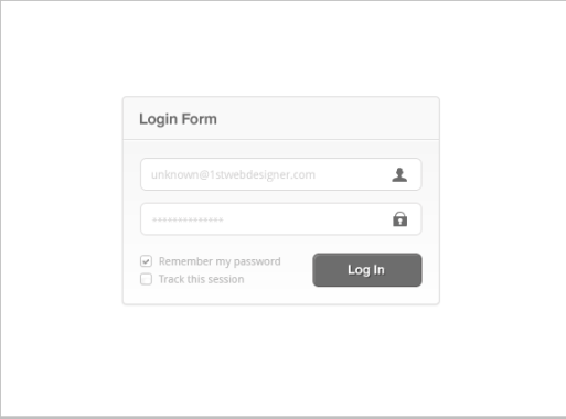 Create a Minimal and Super Trendy Login Interface in Photoshop