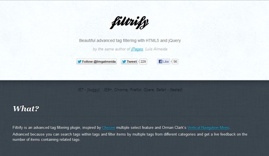 Filtrify-jquery-css-navigation