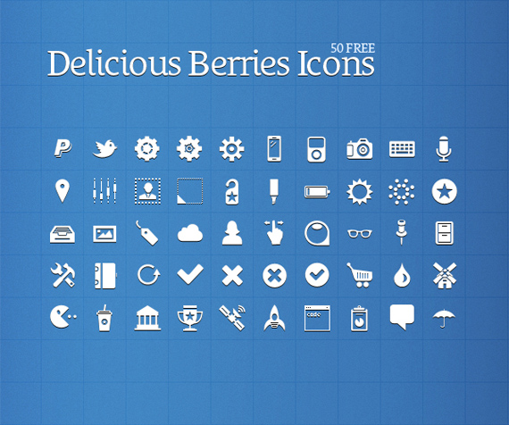 Delicious-berries-free-minimal-clean-icons