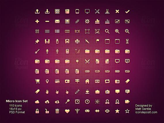 Micro-free-minimal-clean-icons