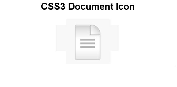 Create a Beautiful Icon with CSS3