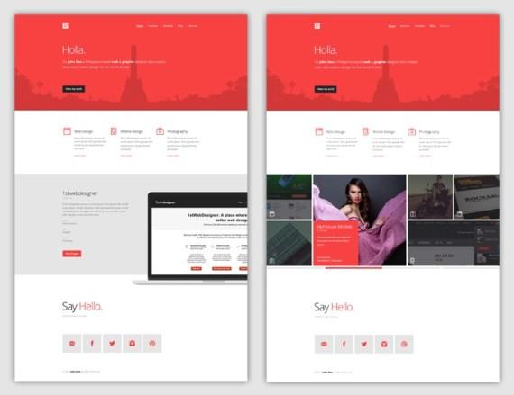 70-tutorials-2013-portfolio-landing-page