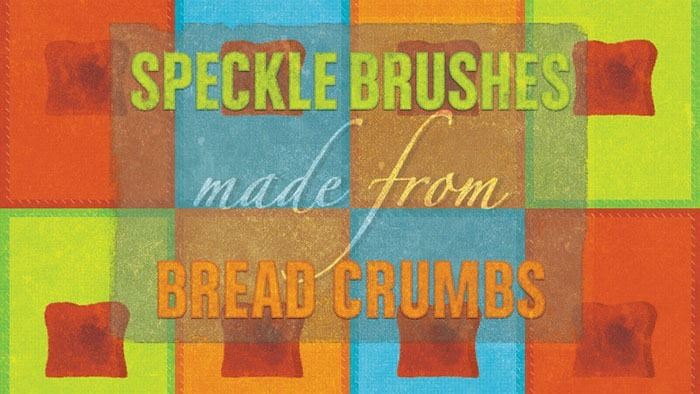 Brush Set Made From a Toast