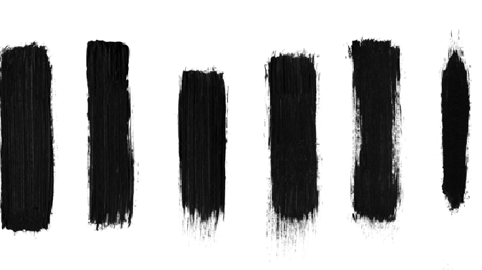 Dry Brush Stroke Photoshop Brushes