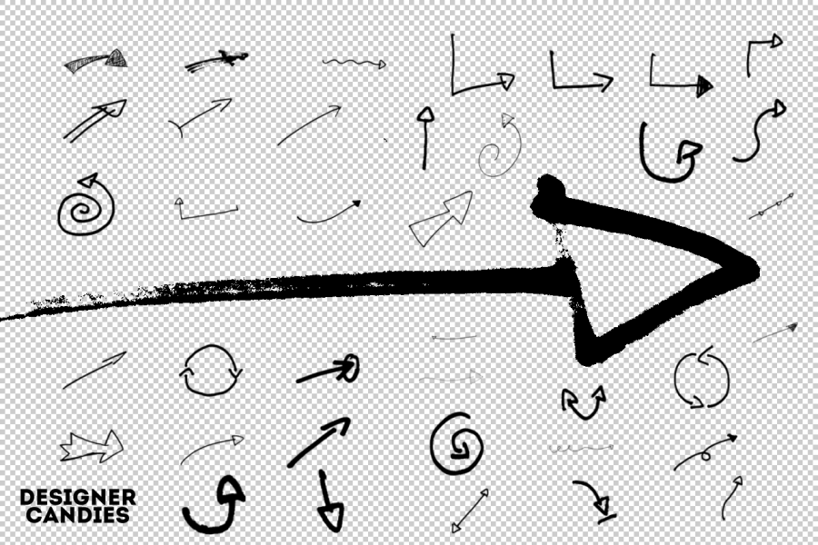 hand-drawn-arrows-brushes-photoshop