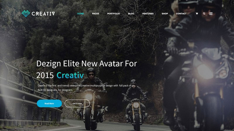 Creativ - Multi_Concept Business PSD Template