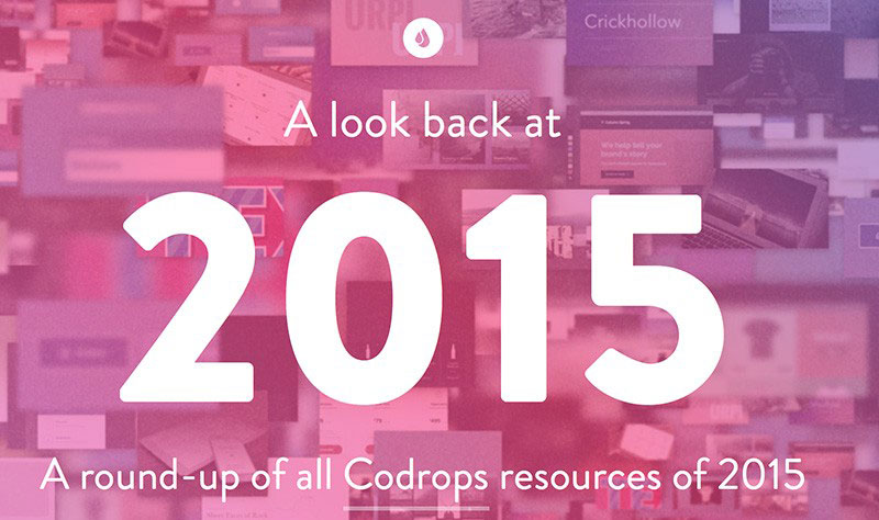 A Look Back at 2015: Round-up of Codrops Resources .