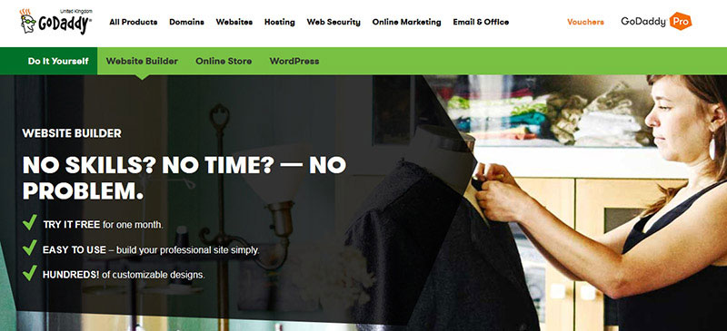 godaddy-website-builder