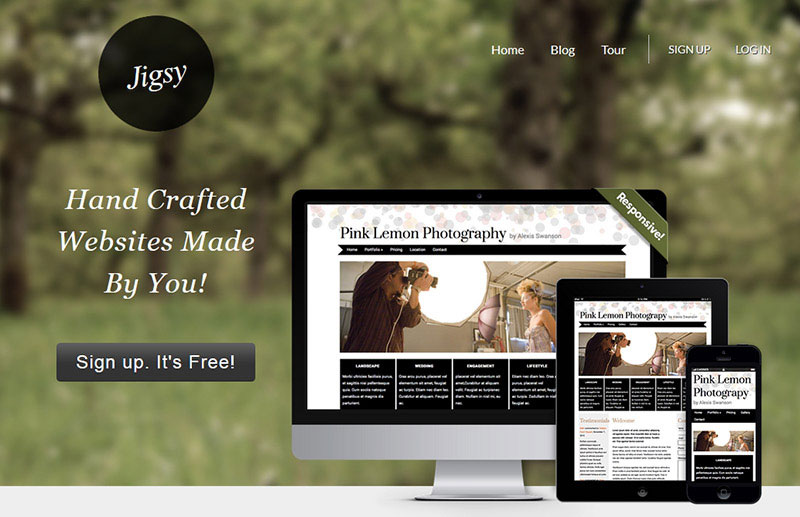 jigsy-website-builder