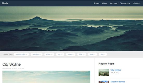 Meeta free wordpress theme